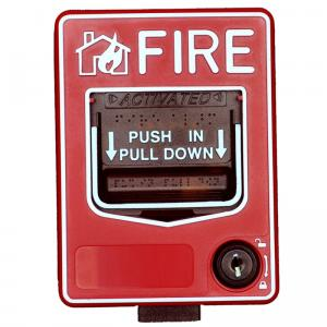 Conventional Fire Alarm Control System: SB116 Manual Call Point